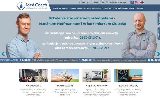 Med-Coach – kursy fizjoterapeutyczne