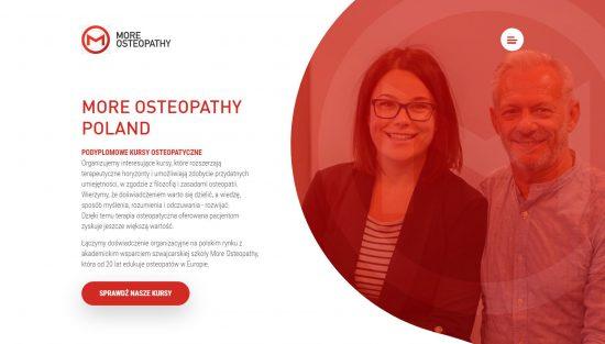 More Osteopathy – kursy osteopatyczne
