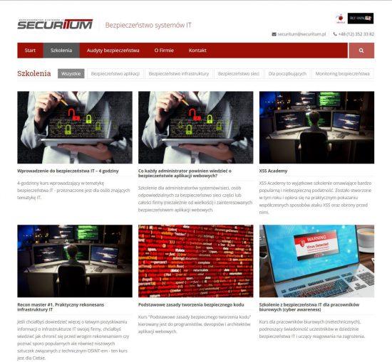 Securitum – szkolenia z zezpieczeństwa systemów IT